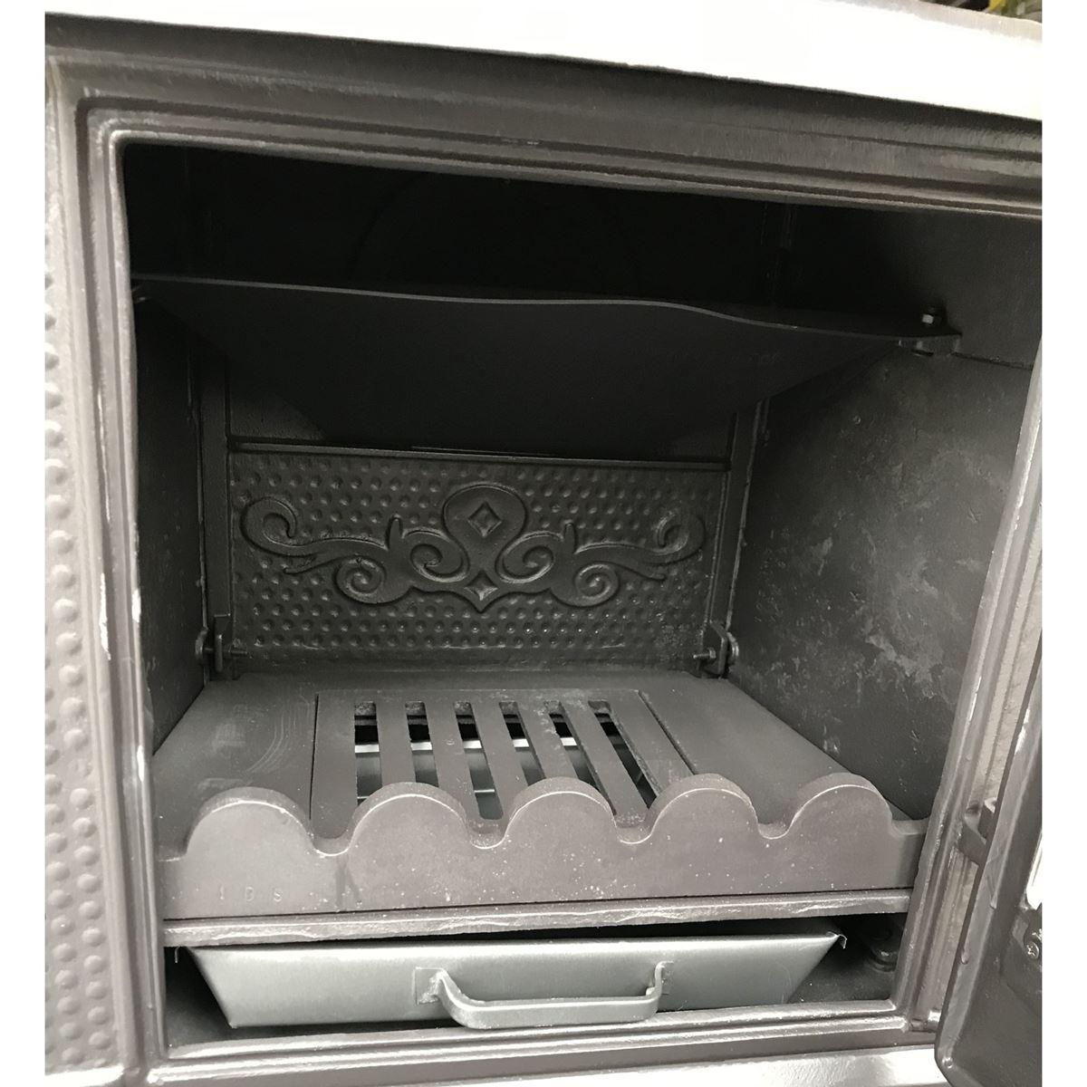 İDS 104 Mini Tek Camlı Döküm Şömine