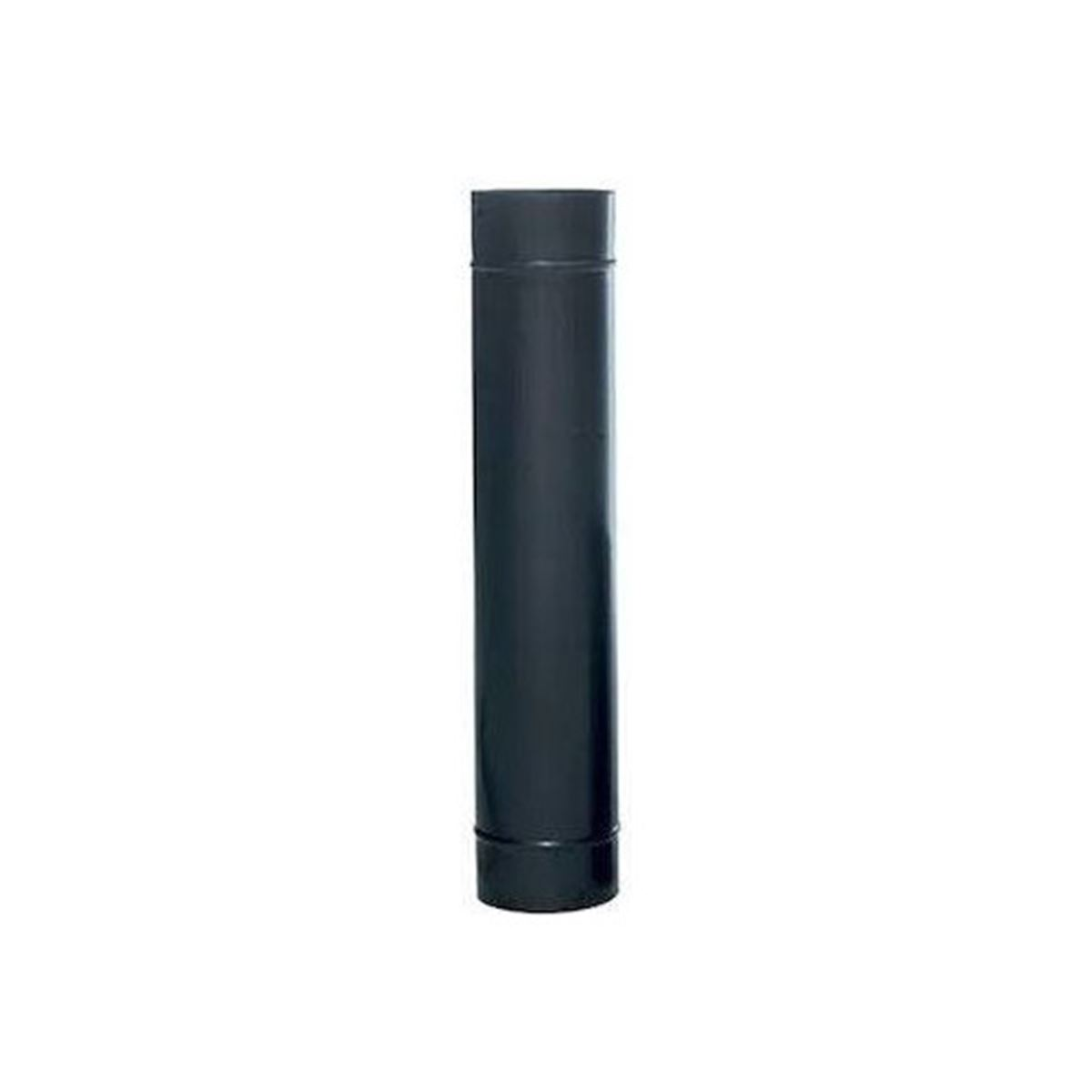 Mat Siyah Soba Borusu 25 Cm Uzunluk